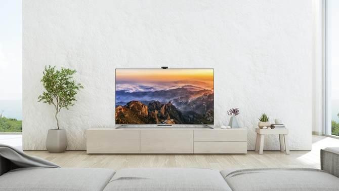 TCL Q78D旗舰云社交智慧电视 感受客厅社交娱乐新体验
