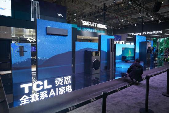 尊享智慧生活 TCL灵悉C12全套系AI家电闪耀AWE2021