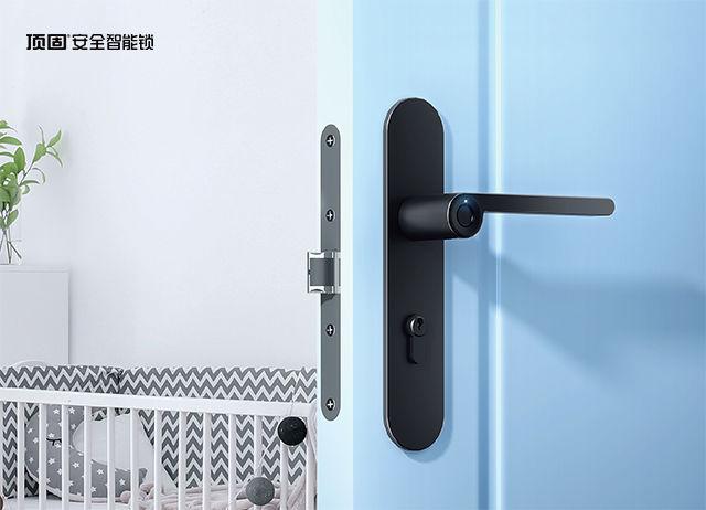 极简风室内指纹锁,更符合室内门锁未来趋势