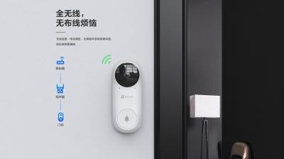 【新品首发】DB2C智能可视门铃套装(全景夜视版)