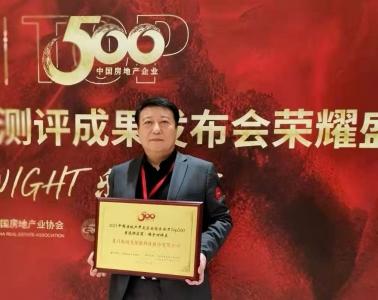 """狄耐克连续九年问鼎""""中国房地产TOP500首选供应商品牌""""荣誉!"""